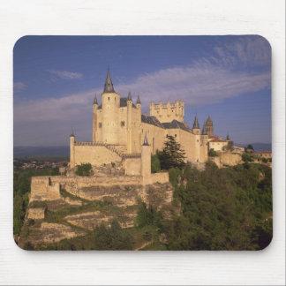 Alcazar and Cathedral, Segovia, Castile Leon, Mouse Pad