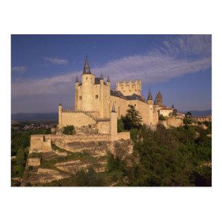 Alcazar and Cathedral, Segovia, Castile Leon, Postcard