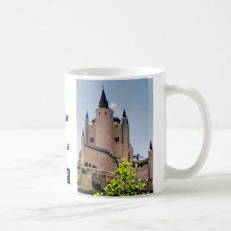 Alcázar de Segovia, España Taza