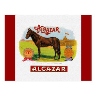 Alcazar el caballo de raza tarjetas postales