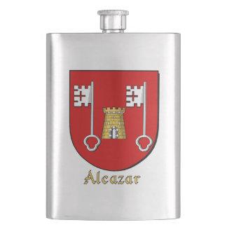 Alcazar Heraldic Shield Flask