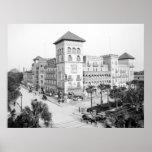 Alcazar Hotel, St Augustine, Florida, 1903 Poster