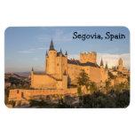 Alcazar in Segovia, Spain Premium Flexi Magnet Vinyl Magnet