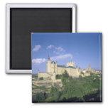 Alcazar, Segovia, Castile León, España 2 Imán Cuadrado