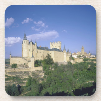 Alcazar Segovia Castile León España 2 Posavasos De Bebidas