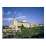 Alcazar, Segovia, Castile León, España 2 Tarjetas Postales