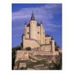 Alcazar, Segovia, Castile León, España, la UNESCO Postal