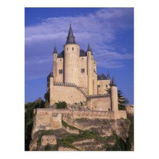 Alcazar, Segovia, Castile León, España, la UNESCO Postales