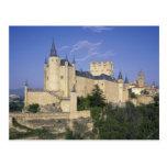 Alcazar, Segovia, Castile León, España Tarjetas Postales