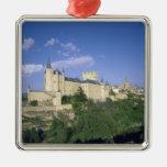 Alcazar, Segovia, Castile Leon, Spain 2 Metal Ornament