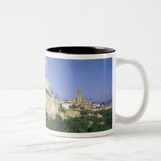 Alcazar, Segovia, Castile Leon, Spain 2 Two-Tone Coffee Mug