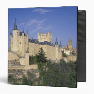 Alcazar, Segovia, Castile Leon, Spain 3 Ring Binder