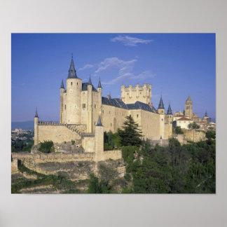 Alcazar, Segovia, Castile Leon, Spain Poster