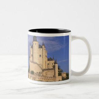 Alcazar, Segovia, Castile Leon, Spain Two-Tone Coffee Mug