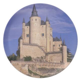 Alcazar, Segovia, Castile Leon, Spain, Unesco Dinner Plate