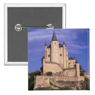 Alcazar, Segovia, Castile Leon, Spain, Unesco Pinback Button