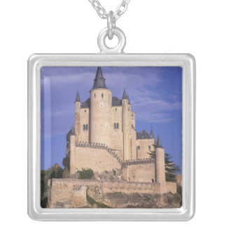 Alcazar, Segovia, Castile Leon, Spain, Unesco Silver Plated Necklace