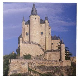 Alcazar, Segovia, Castile Leon, Spain, Unesco Tile