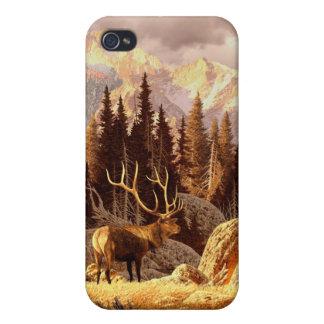 Alces Bull iPhone 4 Cárcasa