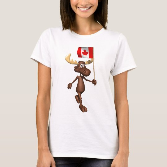 Alces Canadá Playera