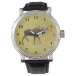 Alces de Bull Reloj De Mano
