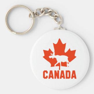 Alces de Canadá Llaveros