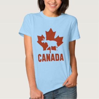 Alces de Canadá Playeras