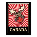 Alces de Canadá Postales