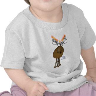¡Alces de Jánuca! Camiseta