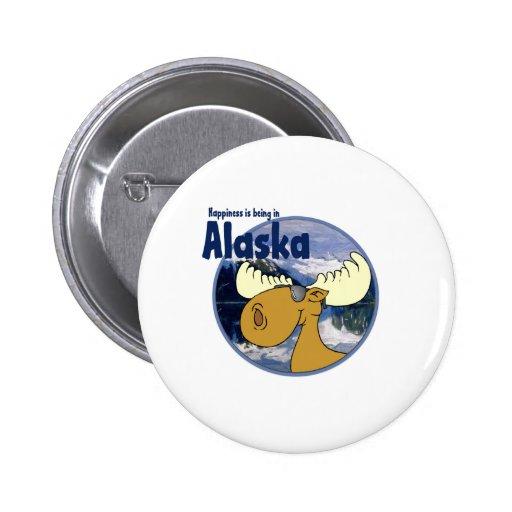 Alces de la felicidad - Alaska Pins