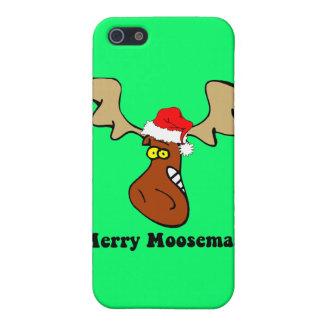 alces de las Felices Navidad iPhone 5 Coberturas