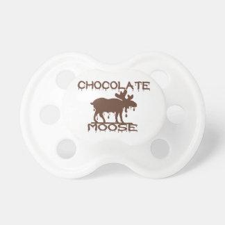 Alces del chocolate chupetes de bebé