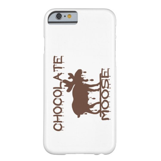 Alces del chocolate funda barely there iPhone 6