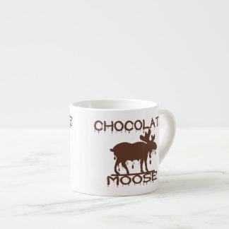 Alces del chocolate tazas espresso