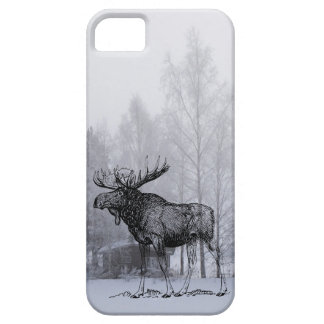 Alces del invierno iPhone 5 carcasas