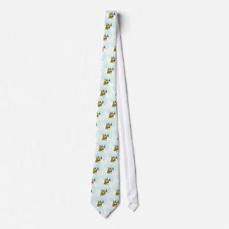 Alces del navidad corbata personalizada