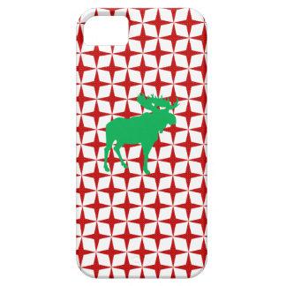 Alces del navidad iPhone 5 Case-Mate cobertura