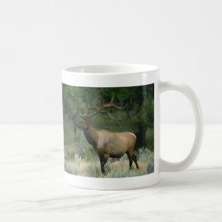 Alces hermosos taza de café