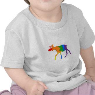 Alces homosexuales y lesbianos de Canadá del orgul Camiseta