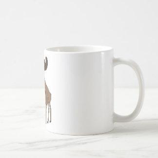 Alces lindos taza