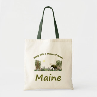 Alces majestuosos de Maine Bolsa Tela Barata