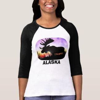 Alces para mujer Alaska Camiseta