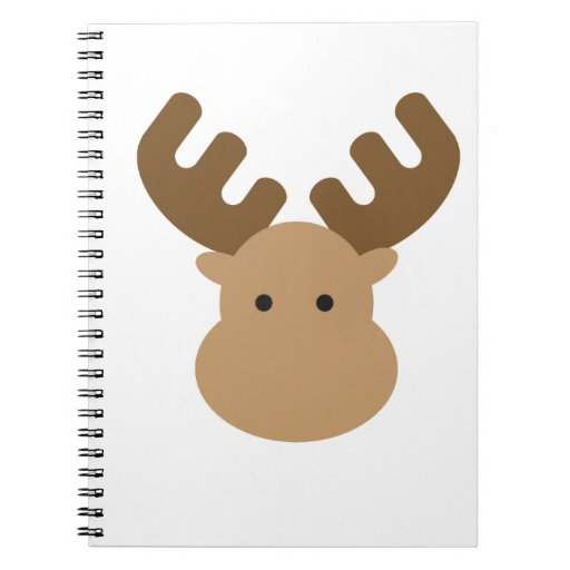 Alces Spiral Notebook