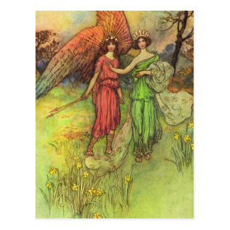 Alceste and the God of Love Postcard
