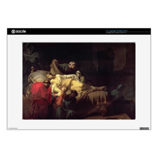 Alcestis sacrifices herself to save her husband Ad Laptop Decal