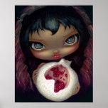 Alchemical Angel 3 ART PRINT pomegranate fairy