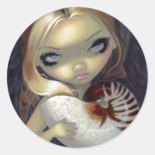 """Alchemical Angel II"" Sticker"