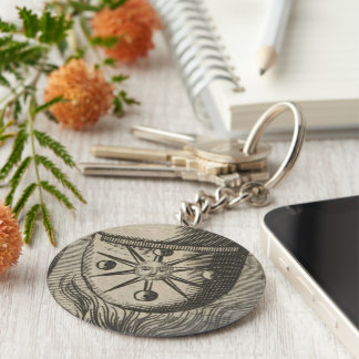 Alchemical Moon Phases Keychain