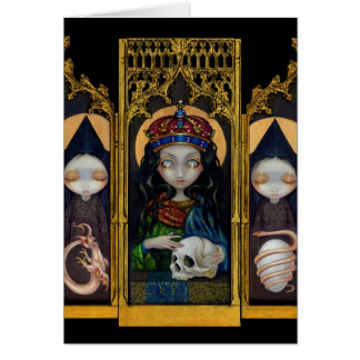 """""""Alchemical Queen"""" Greeting Card"""