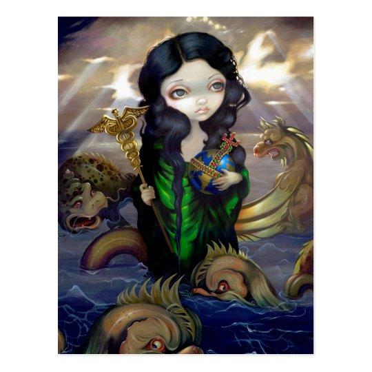 """Alchemical Seas"" Postcard"